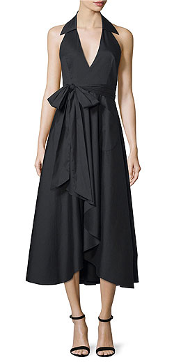 Milly Kate Halter Midi Dress