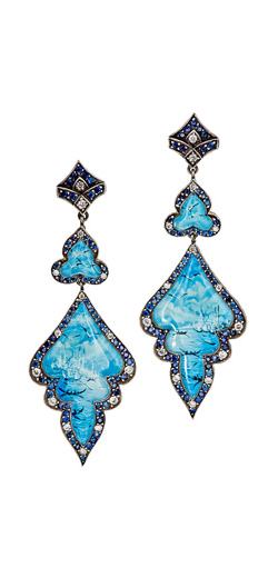 SEVAN BIÇAKÇI Seascape Double-Drop Earrings