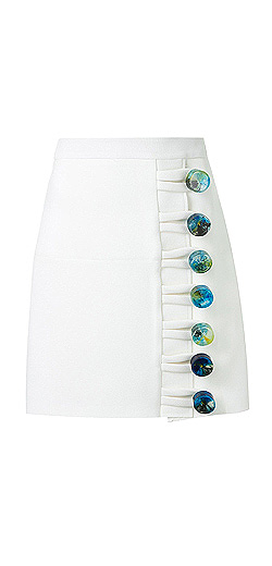 CHRISTOPHER ESBER looped elemental mini skirt