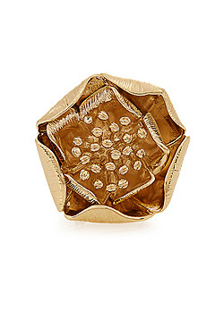 AURÉLIE BIDERMANN Paloma gold-plated ring