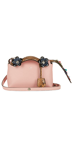 FENDI By The Way mini flower-appliqué cross-body bag
