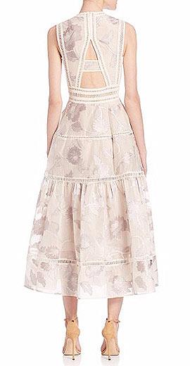 Rebecca Taylor Ella Fil Coupe Dress