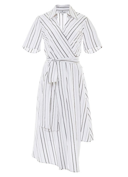 Alexis Short-Sleeve Vivien Cotton-Blend Shirtdress
