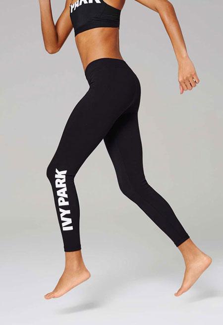 Full Length Logo Leggings by Ivy Park