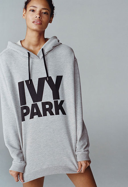 Oversized Logo Hoodie by Ivy Park