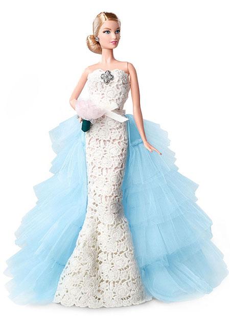 Oscar de la Renta Bridal Barbie Limited Edition