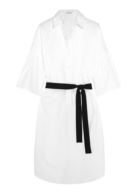 TOME Freedom For All cotton-poplin dress