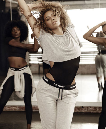 Beyonce Ivy Park Topshop Clothing