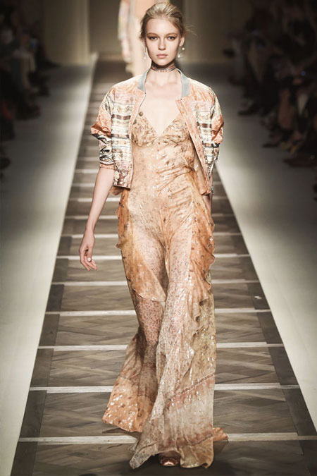 Etro Printed Silk-Floral Maxi Dress