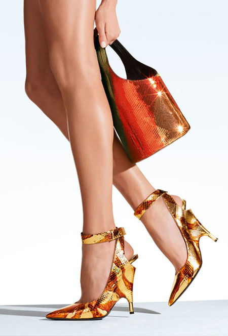 Tom Ford Ankle-Wrap Pump