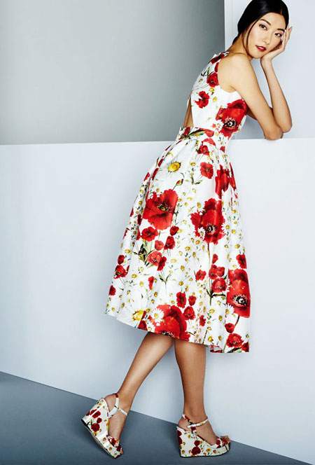 Dolce & Gabbana Daisy Dress