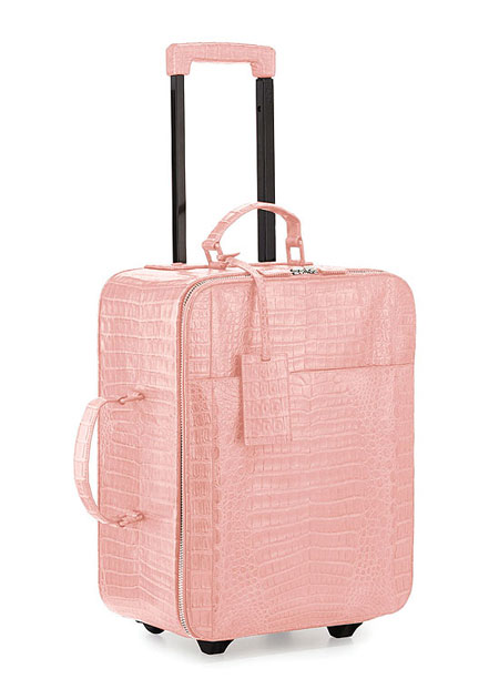 Nancy Gonzalez Crocodile luggage suitcase travel bag