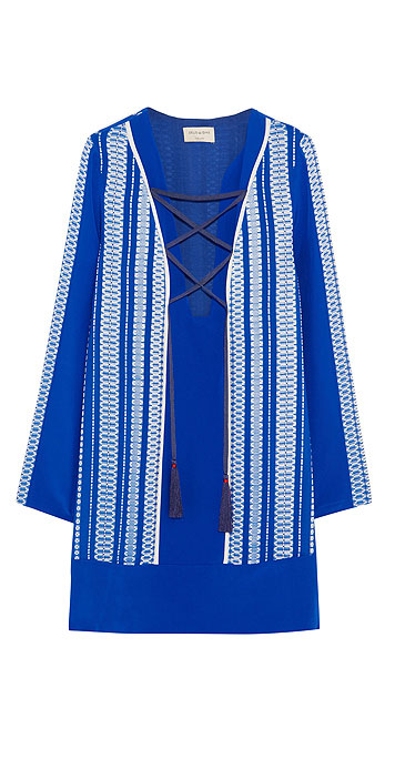 ZEUS + DIONE Thasos embroidered silk-crepe dress
