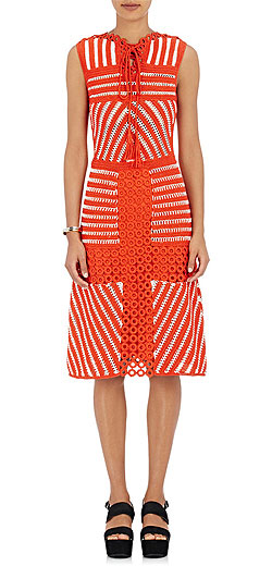 ORLEY Crochet Dress