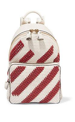 ANYA HINDMARCH Diamonds Mini leather backpack
