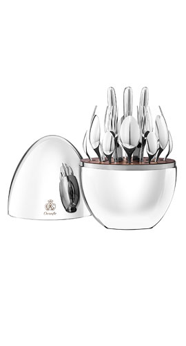 Christofle 24-Piece Mood Flatware Service