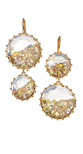 RENEE LEWIS Shake Double-Drop Earrings
