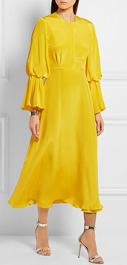 ROKSANDA Ophelia silk-satin dress
