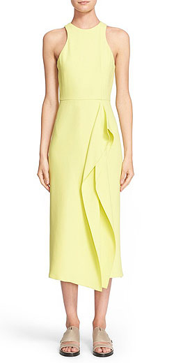 BOSS 'Derivana' Midi Sheath Dress