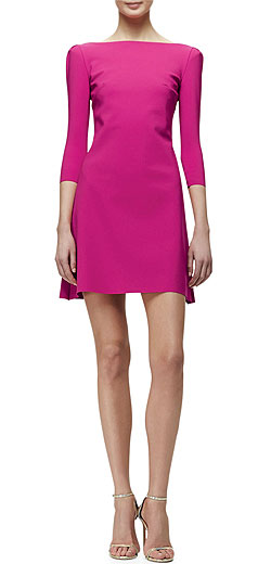 La Petite Robe di Chiara Boni Marcelle 3/4-Sleeve Cocktail Dress