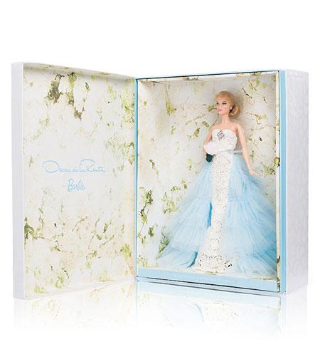 Oscar de la Renta Bride Barbie