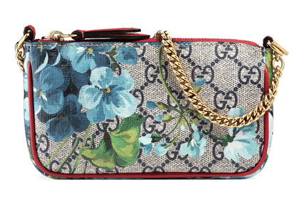 GG Blooms Mini Chain Shoulder Bag