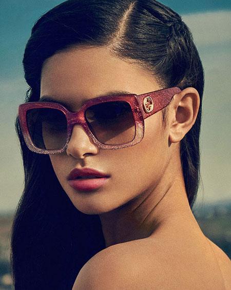 Gucci GG 54MM Optyl Cat's-Eye Sunglasses