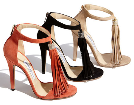 Jimmy Choo Viola Tassel Sandals