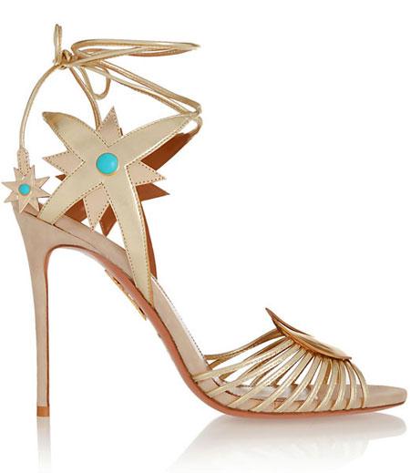 aquazurra-Poppy-Delevingne-Midnight-metallic-leather-sandals