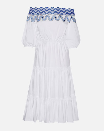 LOVIKA CLOSET | White off-the-shoulder dresses for summer