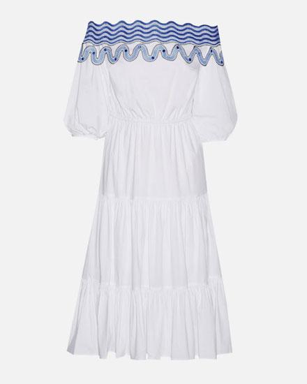 LOVIKA CLOSET | White off-the-shoulder dresses for summer