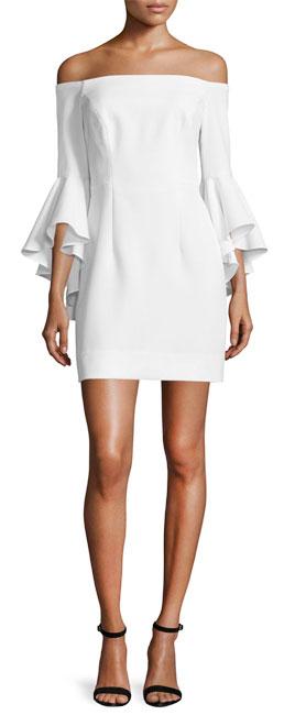 MILLY Selena Italian Cady Dress