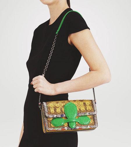 Bottega-Veneta-Mangrovia-Snakeskin-Leather-Shoulder-Bag-2