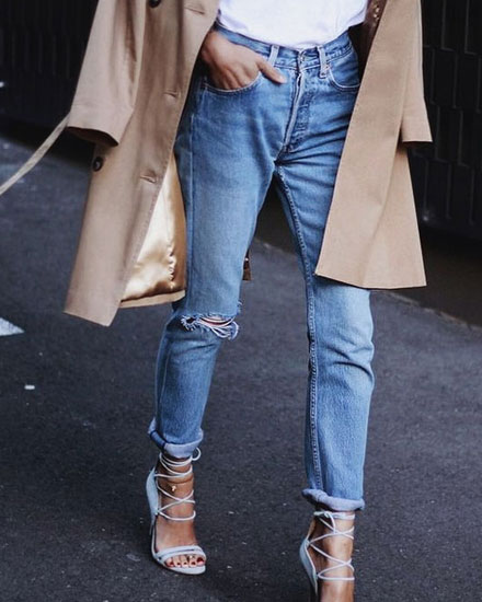 LOVIKA | How to tuck in a shirt in jeans #fashion #inspiration #street #style