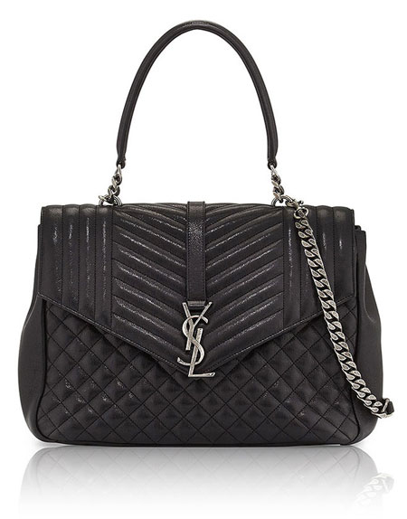 Saint-Laurent-Monogram-Large-Tri-Quilt-College-Shoulder-Bag