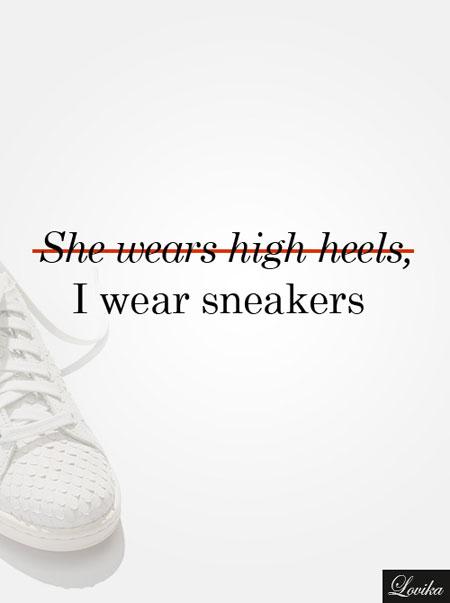 fashion sneakers quote | Lovika