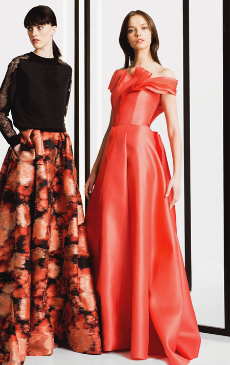 Carolina Herrera Pre-Fall 2016 Gown