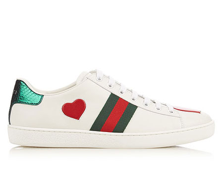 Gucci New Ace Lace Up Sneakers