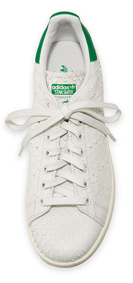 adidas Stan Smith Snake-Cut Leather Sneaker