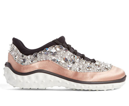 Miu Miu Studded Sneaker