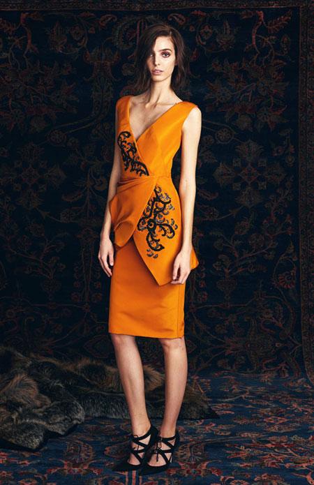 Pamella Roland Pre-Fall 2016 Cocktail Dress