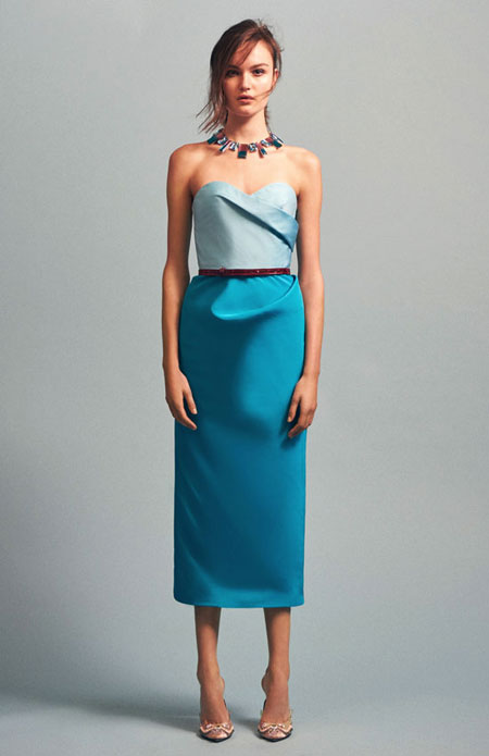 Oscar de la Renta Pre-Fall 2016 Cocktail Dress