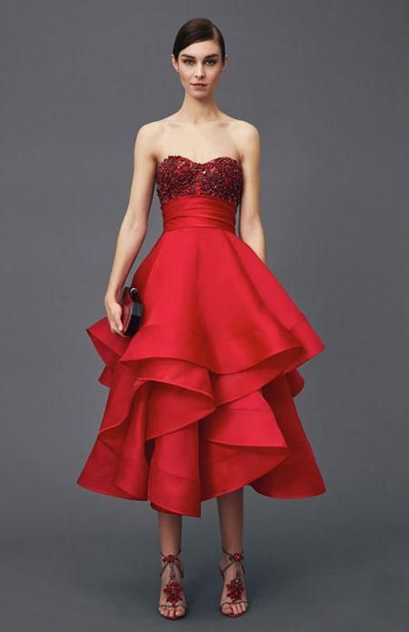 Marchesa Pre-Fall 2016 Cocktail Dress