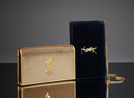 Saint Laurent Monogram Clutch Wallets