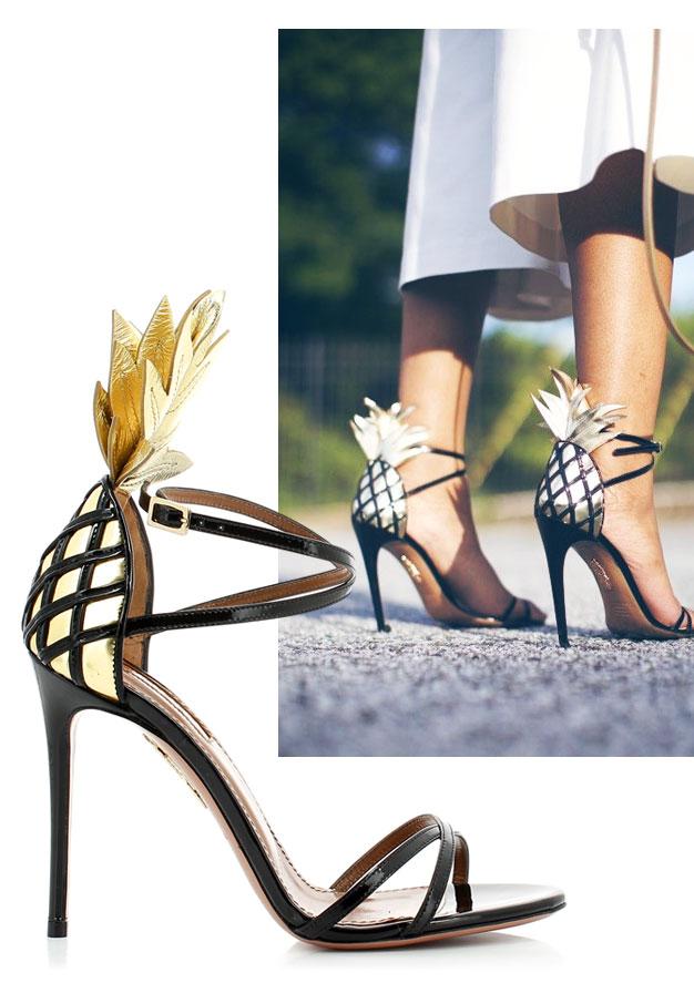 Aquzurra Pina Colada Sandal