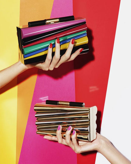 Gorgeous Bags in Rainbow – Ferragamo x Sara Battaglia
