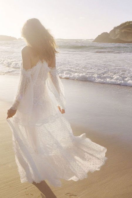 Zimmermann White Lace Maxi Dress #Summer