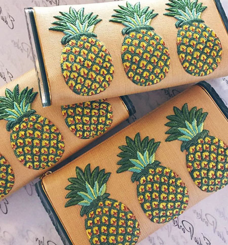 Edie Parker Summer Clutch Bag
