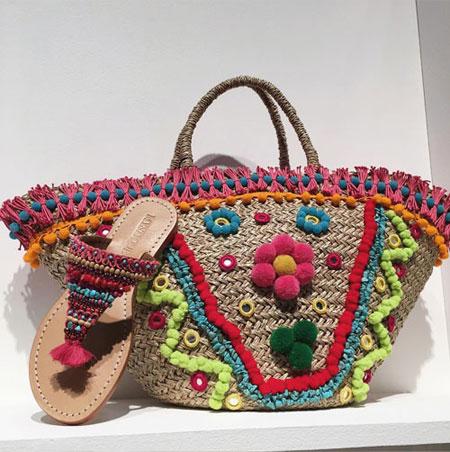 Best designer beach bags #summer #tote #Mystique