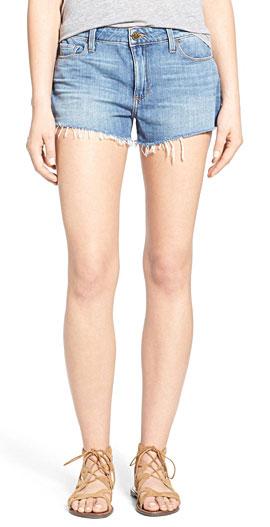 Paige 'Kiera' Cutoff Denim Shorts with Frayed Hems